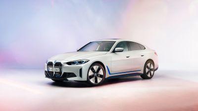 BMW i4, Electric cars, 2021, 5K