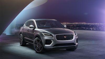 Jaguar E-Pace R-Dynamic, Electric SUV, 2021, 5K, 8K