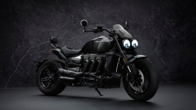 Triumph Rocket 3 GT Triple Black, Limited edition, 2021, 5K