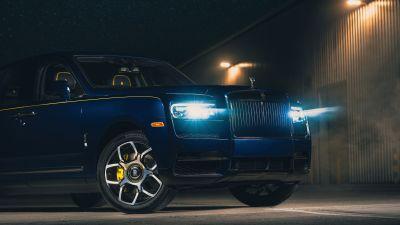 Rolls-Royce Cullinan Black Badge, 2021, 5K, 8K