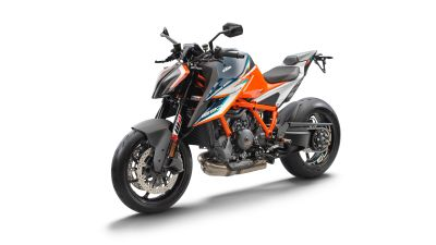 KTM 1290 Super Duke RR, White background, 2021, 5K, 8K