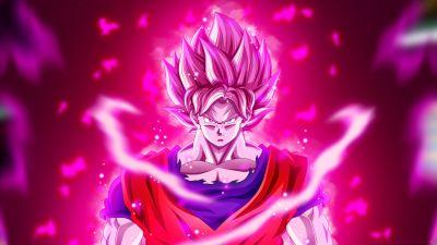 Super Saiyan Blue Kaio-ken, Goku, Dragon Ball Super, 5K
