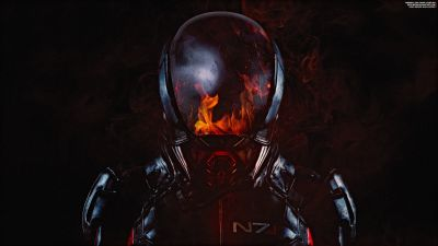 Mass Effect: Andromeda, N7 Armor, Fire
