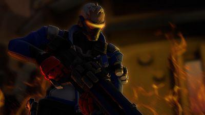 Soldier 76, Overwatch, Artwork