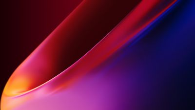 OnePlus 8 Pro, Stock, 2020, Gradients, Red background