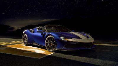 Ferrari SF90 Spider Assetto Fiorano, 2021, 5K, 8K