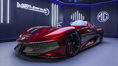 MG Cyberster Concept, Electric Sports cars, EV Concept, 5K, 2021
