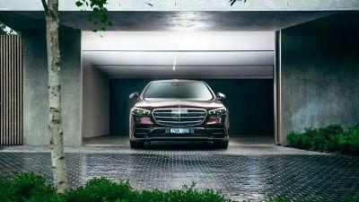 Mercedes-Benz S 450 lang 4MATIC AMG Line, 2021