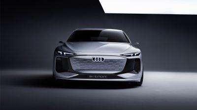 Audi A6 e-tron Concept, Electric cars, 2021, 5K, 8K