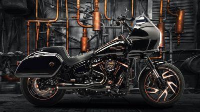Harley-Davidson Sport Glide, Battle of the Kings, Moonshine, Custom tuning