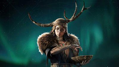 Valka the Seer, Assassin's Creed Valhalla, 2021 Games, 5K, 8K