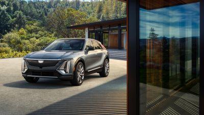 Cadillac Lyriq, Electric crossover, Electric SUV, 2023, 5K