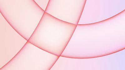 iMac 2021, Apple Event 2021, Stock, Pink background, 5K