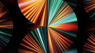 iPad Pro 2021, Apple Event 2021, Green, Colorful, Stock, Multicolor