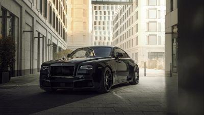 Spofec Rolls-Royce Wraith Black Badge Overdose, 2021, 5K, 8K