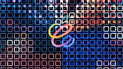 Apple logo, Apple Event 2021, Colorful, iMac 2021, Stock