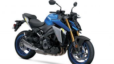 Suzuki GSX-S1000, Sports bikes, White background, 5K