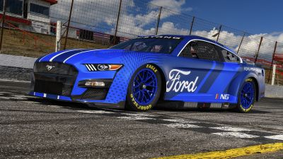 Ford Mustang, NASCAR Race Car, 2021