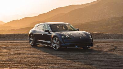 Porsche Taycan Turbo Cross Turismo, 2021, 5K