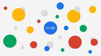 Google, Circles, Multicolor, Colorful, White background, 5K, 8K