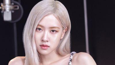 Rose, Blackpink, Beautiful, Portrait, K-Pop singer, Vogue