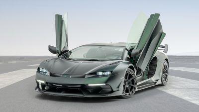 Mansory Cabrera, Lamborghini Aventador SVJ, 5K