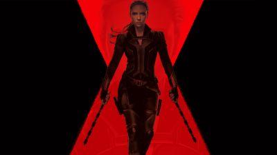 Black Widow, Scarlett Johansson, DC Comics, 2020 Movies, 5K, 8K