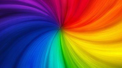 Swirl, Colorful, Rainbow colors, Multicolor