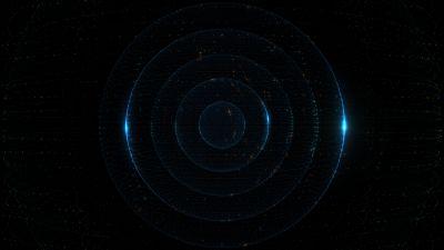 Particles, Circles, Dark, AMOLED