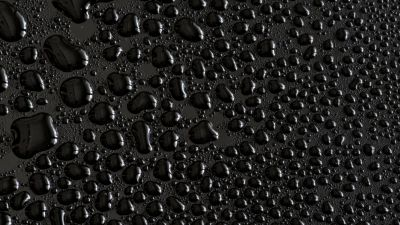 Water droplets, Black background, Texture, Rain drops, Pattern, Backgrounds
