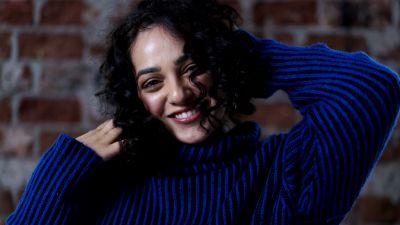 Nithya Menen, Indian actress, Beautiful actress, 5K, 8K