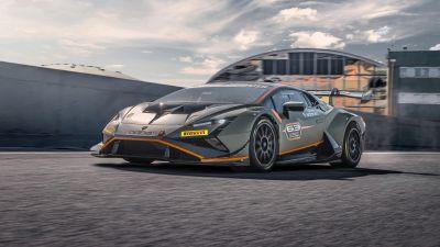 Lamborghini Huracán Super Trofeo EVO2, Race cars, 2022, 5K