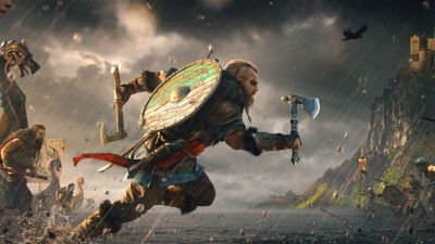Assassin's Creed Valhalla, Eivor, Viking raider, Vikings, PC Games, PlayStation 4, PlayStation 5, Xbox One, Xbox Series X, 2020 Games, 5K