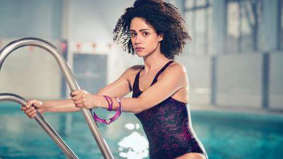 Nathalie Emmanuel, British actress, Hollywood, Swimsuit, 5K, 8K