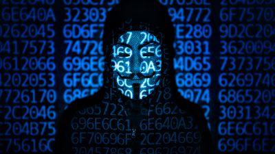 Hacker, Guy Fawkes mask, Code, Black Hoodie, 5K, 8K