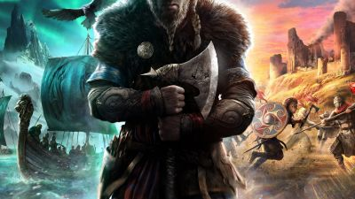Assassin's Creed Valhalla, Eivor, Viking raider, PC games, PlayStation 4, PlayStation 5, Xbox One, Xbox Series X, 2020 Games, 5K, 8K