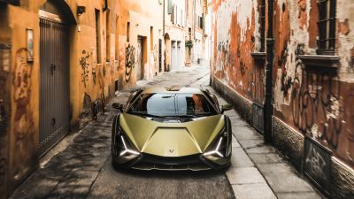 Lamborghini Sián FKP 37, Hybrid cars, Sports cars, 2021