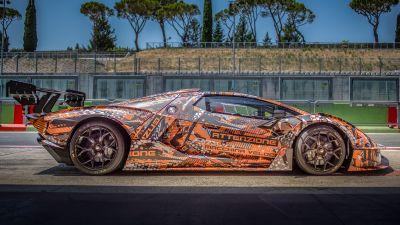 Lamborghini Essenza SCV12, Hypercars, 2021, 5K