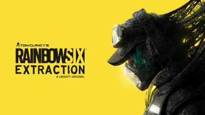 Tom Clancy's Rainbow Six Extraction, E3 2021, 2021 Games, Yellow background, PC Games, PlayStation 4, PlayStation 5, Xbox One, Xbox Series X and Series S