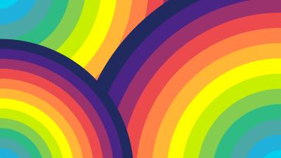 Rainbow colors, Colorful background, Multi color, Pattern, 5K, 8K