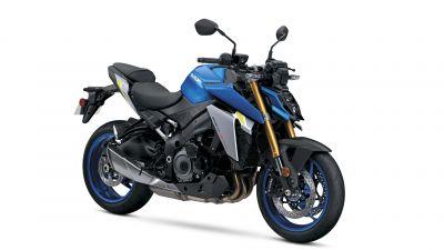 Suzuki GSX-S1000, Sports bikes, White background, 2022