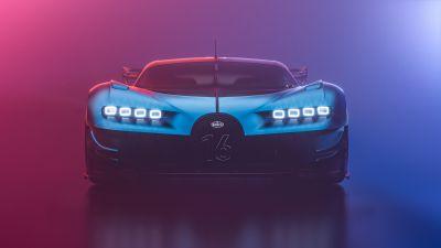 Bugatti Chiron Vision GT, Hyper Sports Cars, CGI