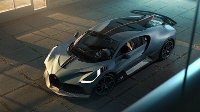Bugatti Divo, Hyper Sports Cars, CGI, 2021