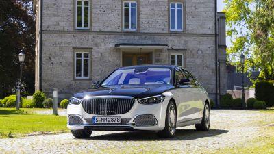 Mercedes-Maybach S 680 4MATIC, Mercedes-Maybach S-Class, Luxury Sedan, 2021, 5K