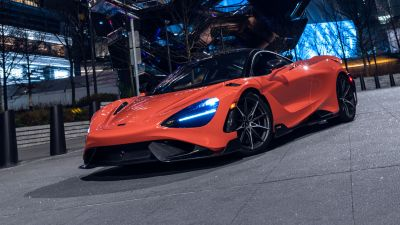 McLaren 765LT, Sports cars, 2021, 5K
