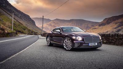 Bentley Continental GT Mulliner, Luxury cars, 5K