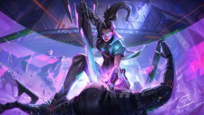 Samira, League of Legends, 2021 Games