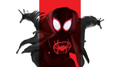 Miles Morales, Spider-Man, Artwork, Digital art, Marvel Superheroes