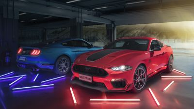 Ford Mustang Mach 1, 2021, 5K