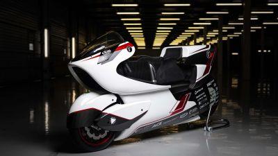 WMC250EV, World's Fastest Bikes, Electric bikes, Prototype, Concept bikes